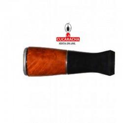 Boquilla para puros montecristo, material brezo, D: 16mm