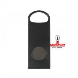 Pack 10 cortapuros plástico 1 agarrador, color negro