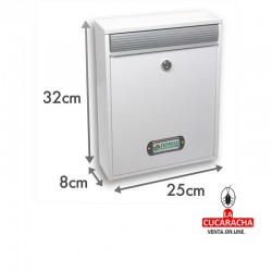 Buzon interior vertical MODELO GATE. 5 COLORES