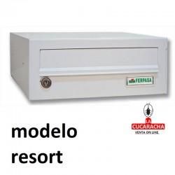 Buzones para exterior horizontales Modelo Resort