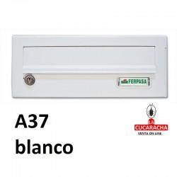 Buzones para exterior horizontales Modelo Resort A37 blanco
