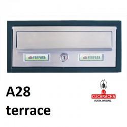 Buzones para exterior horizontales Modelo Terrace A280