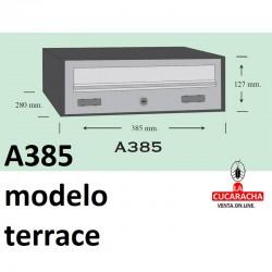 Buzones para exterior horizontales Modelo Terrace A385