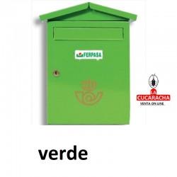 Buzones Exterior Modelo Joan. Verde