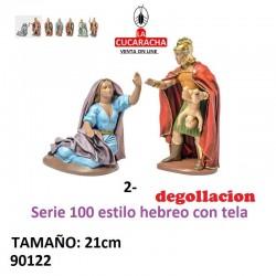 Figuras Belen Degollacion 21 cm