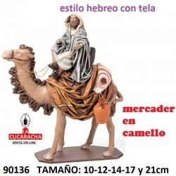 Figuras Belen Mercader en Camello 10-12-14-17 y 21cm