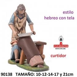 Figuras Belen Curtidor de Piel 10-12-14-17 y 21cm