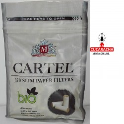 FILTROS CIGARRILLO CARTEL 6MM Ecologico B120