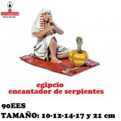 Figuras Belen Grupo Egipcios Encantador de Serpientes 10-12-14-17 y 21 cm