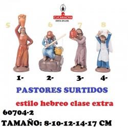 Figuras Belen Estilo Hebreo clase extra-2-PASTORES SURTIDOS 8-10-12-14-17 CM