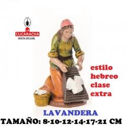 Figuras Belen Estilo Hebreo clase extra Lavanderas 8-10-12-14-17-21cm