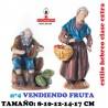 Figuras Belen Estilo Hebreo clase extra-3- Grupos Surtidos Vendiendo fruta 8-10-12-14-17cm