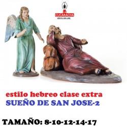 Figuras Belen Estilo Hebreo clase extra-2-SUEÑO DE SAN JOSE 8-10-12-14-17 CM