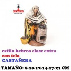 Figuras Belen Estilo Hebreo clase extra con tela-2-CASTAÑERAS 8-10-12-14-17-21 cm