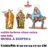 Figuras Belen Estilo Hebreo clase extra con tela-2-HUIDA A EGIPTO 8-10-12-14-17-21 CM