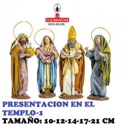 Figuras Belen Estilo Hebreo clase extra con tela-1-PRESENTACION EN EL TEMPLO 10-12-14-17-21 CM