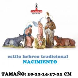 Figuras Belen Estilo Hebreo tradicional NACIMIENTOS 10-12-14-17-21cm