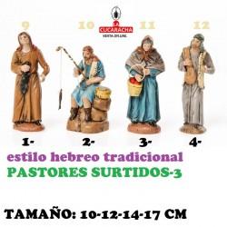 Figuras Belen Estilo Hebreo tradicional-3-PASTORES SURTIDOS 10-12-14-17cm