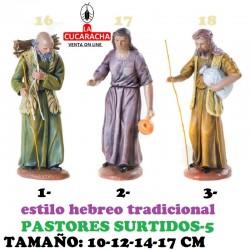 Figuras Belen Estilo Hebreo tradicional-5-PASTORES SURTIDOS 10-12-14-17cm