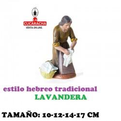 Figuras Belen Estilo Hebreo tradicional LAVANDERAS 10-12-14-17cm