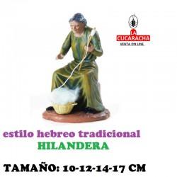 Figuras Belen Estilo Hebreo tradicional HILANDERAS 10-12-14-17cm