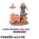 Figuras Belen Estilo Salzillo con tela Grupo HERRERO 14 y 17 cm