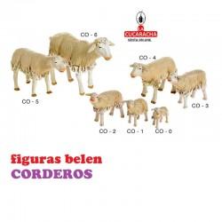 Figuras Belen ANIMALES-CORDEROS