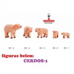 Figuras Belen ANIMALES-CERDOS