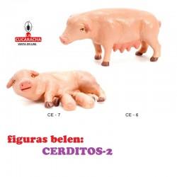 Figuras Belen ANIMALES-CERDITOS-2