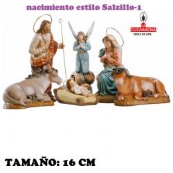 Nacimientos Estilo Salzillo Especial-1- en barro