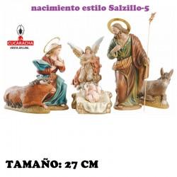 Nacimientos Estilo Salzillo Especial-5- en barro 27 cm