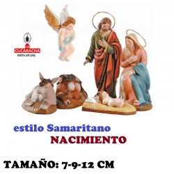 Figuras Belen Estilo Samaritano NACIMIENTO 7-9-12 cm