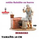 Figuras Belen Estilo Salzillo en barro Grupos-25-HERRERO 18 CM