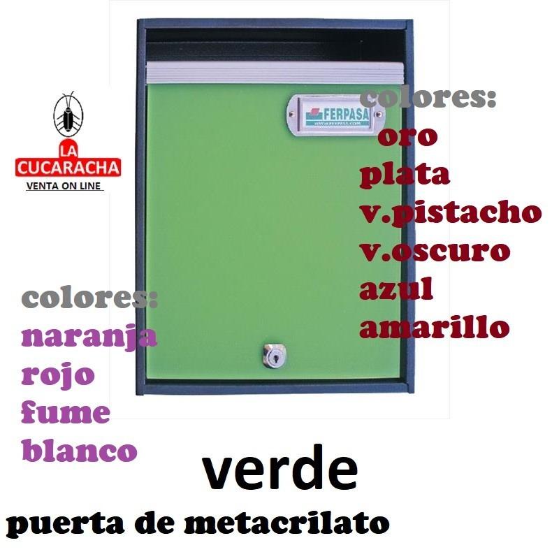 BUZON MODELO ALMUDI. 6 MODELOS