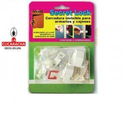 Cerradura de Seguridad Secret Lock (2 Cerraduras)