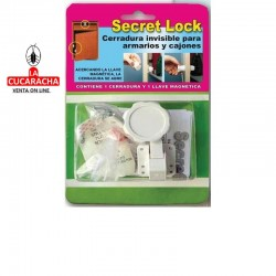 CERRADURA DE SEGURIDAD INVISIBLE SECRET LOCK
