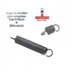 JUEGO MUELLES PACK 2 UDS PARA TOP MAT Y MICROMATIC