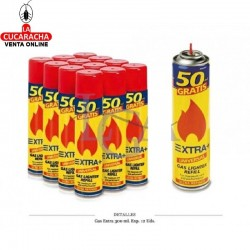 GAS EXTRA 300 ML. 12 UDS