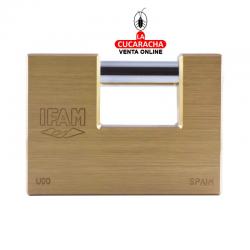 Candado Ifam Laton Serie U 90mm-llave-ig-nº-55632