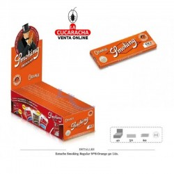 Estuche Smoking Regular Nº8 Orange 50 UDS