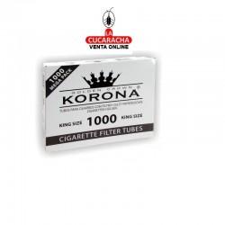 10 Cajas de 1000 Tubos KORONA Classic.