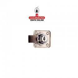 Cerradura Armario Cilindro 25/R362 Cromo llaves distintas