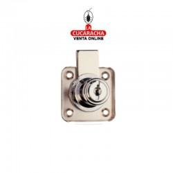 Cerradura Cajon Cilindro 25/R-361 Cromada llaves normales