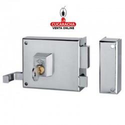 Cerradura de Sobreponer CVL Esmaltada 125AR-10