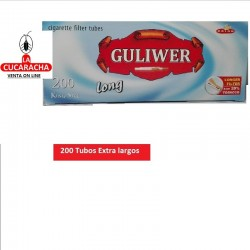 Tubos GULIWER Filtro Largo Caja 200.- Unidadx50