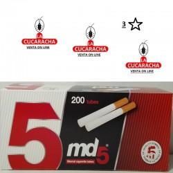 Tubos MD5 Caja 200.- Unidadx50