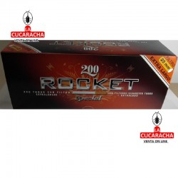 Caja de 200 Tubos ROCKET Xtra Long..