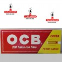 50 Cajas-Tubos OCB Filtro Largo Caja 200