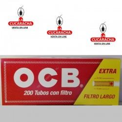 Tubos OCB Filtro Largo Caja de 200.- Unidadx50