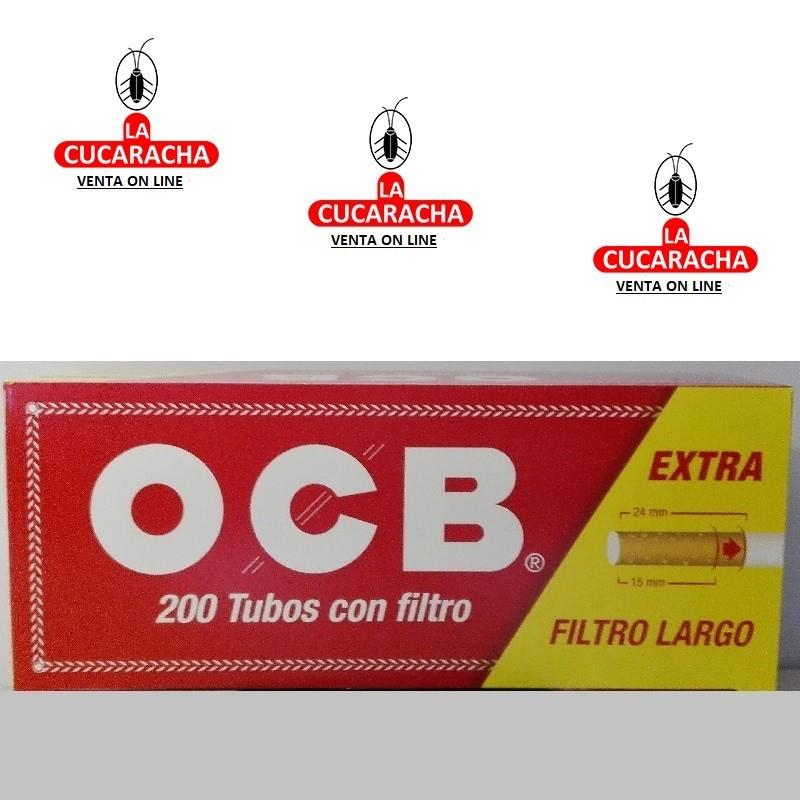 Cajas-Tubos OCB Filtro Largo Caja 200